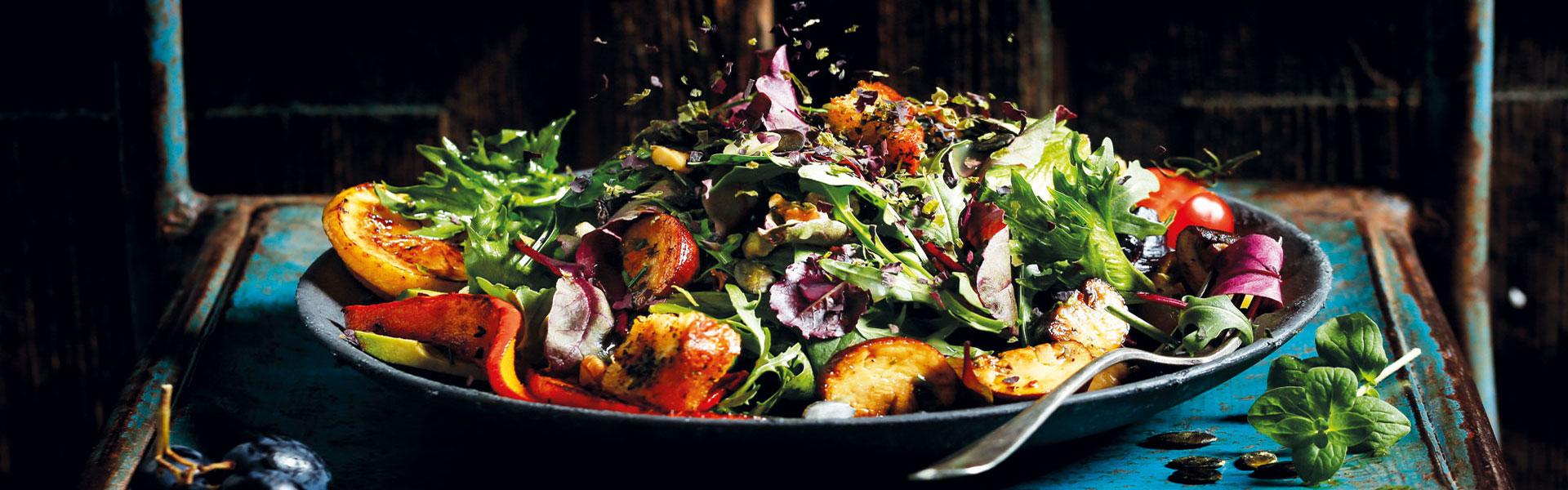Salat Rezept Meeresalgen