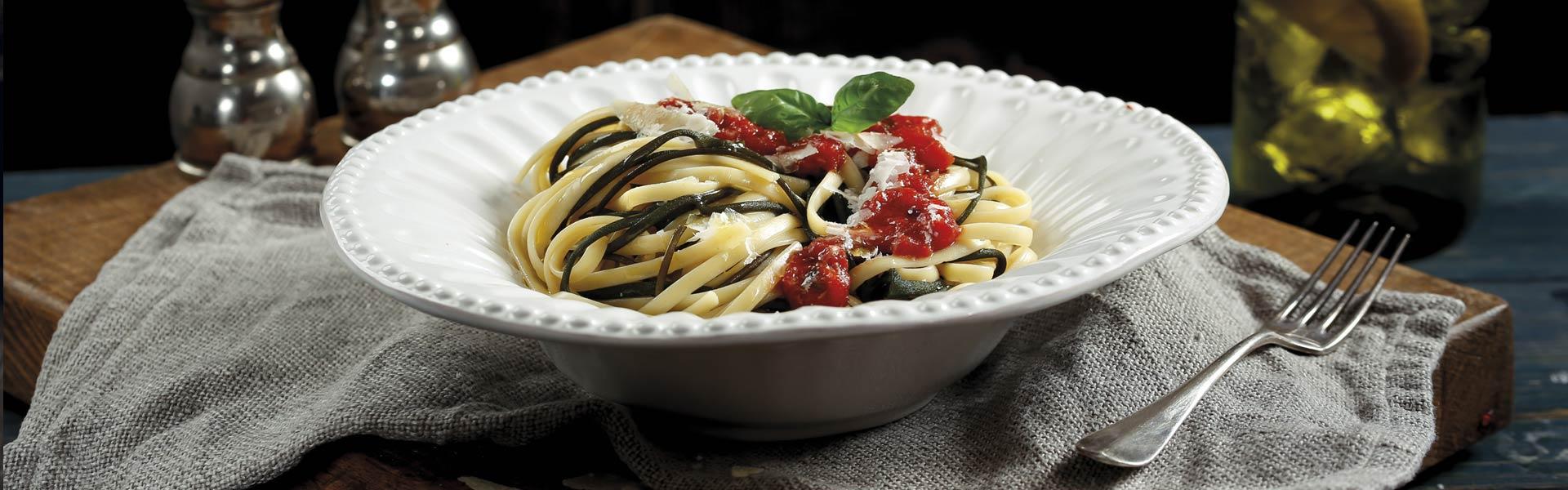 Rezept Spaghetti Meeresalgen