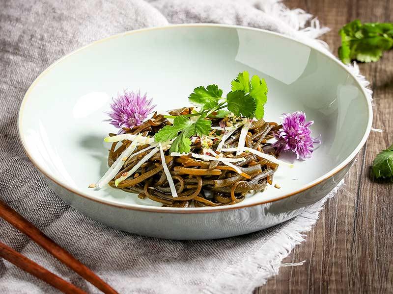 Meeresalgen Sea Spaghetti Salat